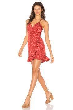 Lovers + Friends x REVOLVE Gigi Wrap Dress in Mini Star Print | REVOLVE