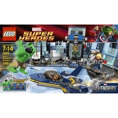 LEGO Super Heroes Hulks Helcarrier Breakout 6868 Told to Grandma Sparky for Finny Xmas