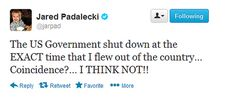 Best Reactions To The United States Government Shutdown by jared padalecki