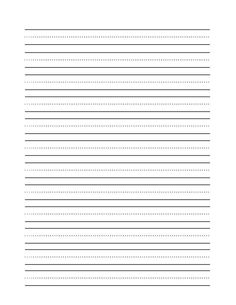 free handwriting practice paper for kids blank pdf templates gael handwriting practice. Black Bedroom Furniture Sets. Home Design Ideas