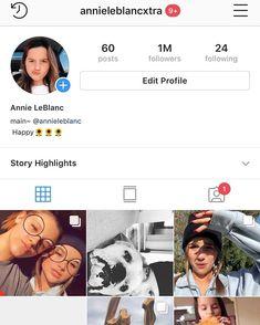 "Annie LeBlanc on Instagram  ""Whattt wowoow thank y all so so so much! I  love each and everyone of you so much❤ thank u thank u xo"" 28f31d6a9"