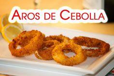 Aros de Cebolla Crujientes o Onion Rings