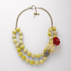 LOVE this butterfly necklace. Very similar to Elva Fields style! With a pink butterfly for Nannie.