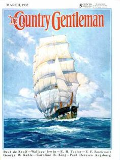 Exclusive licensor of The Saturday Evening Post and The Country Gentleman art. Thousands of images by Norman Rockwell, J. Leyendecker and hundreds of America's Finest Artists. Ship Figurehead, Rochester New York, Sea Captain, 5 Cents, Prince, Norman Rockwell, Vintage Magazines, Vintage Country, Large Art