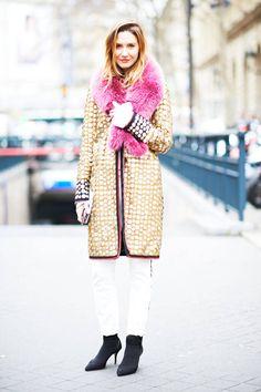 C'est Chic: Paris Fashion Week Street Style  - ELLE.com