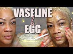 Vaseline and Egg Will Transform Your Face in Only One Night Egg White Mask, White Face Mask, Vaseline Uses For Face, Egg Facial, Facial Masks, Egg Face Mask, Skin Mask, Face Wrinkles, Face Treatment