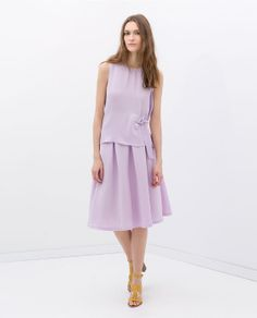 Image 1 of A-LINE SKIRT WITH WAISTBAND from Zara skirt 109