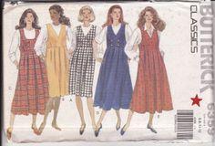 VINTAGE MATERNITY Women's Sewing Pattern Butterick by retrochick66, $6.50