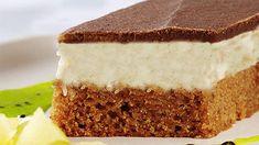 Míša řezy si získaly jméno díky své chuťové podobnosti s oblíbeným tvarohovým nanukem. Je to právě vrstva tvarohu, která v čestném doprovodu kakaového piškotu a čokoládové polevy tvoří na jazyku tu mléčnou slast. Czech Recipes, Ethnic Recipes, Czech Desserts, Chicken Paprikash, Potato Flour, Sugar And Spice, Vanilla Cake, Sweet Tooth, Dessert Recipes