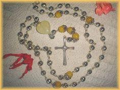 Silver & Jade Rosary