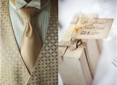 gold/champagne tie & vest for groom or groomsmen,  Go To www.likegossip.com to get more Gossip News!