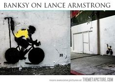 Banksy on Lance…