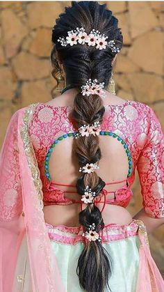 This image has get 2 Indian Bridal Hairstyle Photos, South Indian Wedding Hairstyles, Wedding Hairstyles For Long Hair, Indian Hairstyles, Hairstyle Short, Short Hair, Prom Hairstyles, Engagement Hairstyles, Elegant Hairstyles