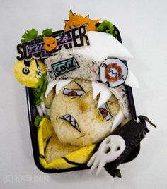 Soul Eater bento box! Not sure if I would even eat this, it's so badass. :3