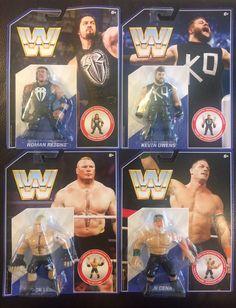 WWE WWF Retro Figures Lot of (4) Cena Lesnar Kevin Owens Roman Reigns - http://bestsellerlist.co.uk/wwe-wwf-retro-figures-lot-of-4-cena-lesnar-kevin-owens-roman-reigns/