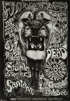 The Doors Poster   Psychedelic & Classic Rock Posters   Pinterest