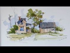 This is a simple little watercolour demonstration of quick techniques I use when Urbansketching. Music by Chris Martyn and Geoff…