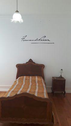 Quarto de Fernando Pessoa, na Casa Fernando Pessoa