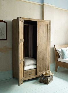 Sumatra Wooden Wardrobe from Lombok