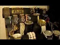 DIY Bracelet Holder/ Organizador de pulseras ♥