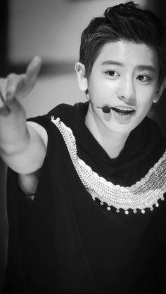 Chanyeol EXO-K Music Bank