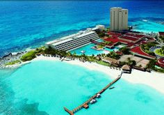 This is Isla Mujeres, fly into cancun and take a boat to this island this is the best place! a lot better than cancun! Cancun Mexico, Cozumel, Mexico Vacation, Cancun Vacation, Mexico Travel, Vacation Destinations, Vacation Trips, Dream Vacations, Vacation Spots
