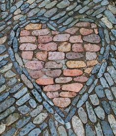 a heart in the path... apenas uma ideia útil para outras formas