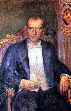 Atatürk by İbrahim Çallı