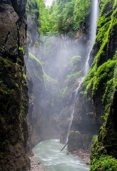 Partnach Gorge, Garmisch-Partenkirchen, Alemania (por Andreas Pueschel)
