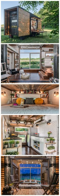 These houses might inspire you sell yours and downsize immediately, they also maximize both function and style. Bright & Cozy Tiny House You can rent this Bright & Cozy Tiny House for $90 a…