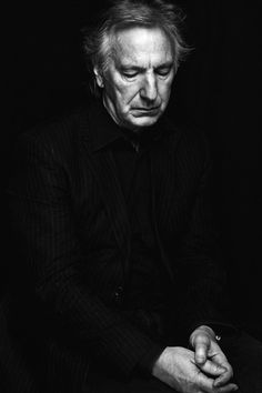 """I've never been able to plan my life. I just lurch from indecision to indecision.""  - Alan Rickman"