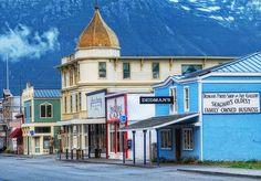 Skagway Alaskas, USA