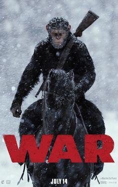 O terceiro filme apresenta Andy Serkis reprisando seu papel como César, e segue sua jornada enquanto ele continua a lutar pela sua espécie em seu papel de líder.