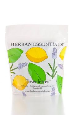 Herban Essentials Towelettes from Soft Surroundings