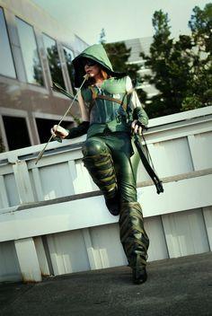 Killer Gender Swapped Arrow Cosplay by Lindsey Leigh. Photo by http://facebook.com/MehreenRizviPhotography