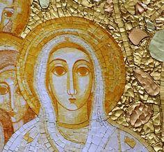 Church of the Most Holy Trinity Shrine of Fatima Portugal, Christian Church, Mosaic Art, Catholic, Religion, Father, Artwork, Wonderful Things, Painting
