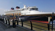 Disney Magic Makes Inaugural Call to Liverpool, England