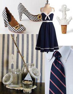 Nautical Wedding --- Bestie wants me to wear that dress at her wedding :D