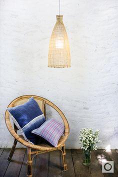 Bamboo Pendant Light Repurposed Fish Trap Pendant door OrientalBazar