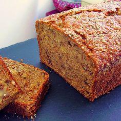 Banana Walnut Cricket Flour Bread