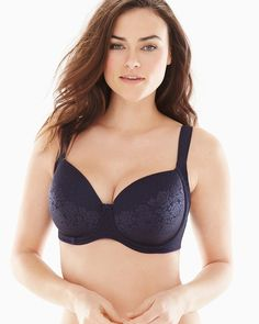 a08a46df9f Full Coverage bra with patent-pending seamless 3-Zone Support lifts, shapes,