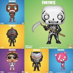 Everyone loves the battle royale phenomenom called Fortnite which draws in millions of views across multiple social media platforms mo. Funko Pop, Pop Goes The Weasel, Pikachu, Pokemon, Xbox, Epic Games Fortnite, Pop Collection, Pop Games, Battle Royal