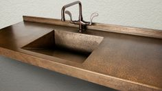 EarthCrete™ Concrete in Genuine MetalCrete Finshes