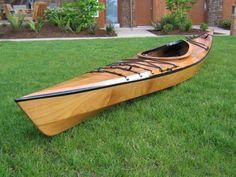Wooden Kayak Builder - Building Wooden Kayaks