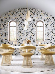 Wallpaper Love: Drop It Modern