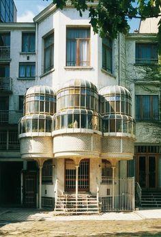 Victor Horta, Huis Max Hallet, 1902 on ArtStack #victor-horta #art