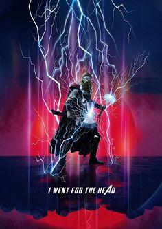 Thor, Avengers: End Game Marvel Comic Universe, Marvel Art, Marvel Heroes, Marvel Cinematic Universe, Marvel Avengers, Asgard, Chris Hemsworth Thor, Iron Man Avengers, Cinema Tv