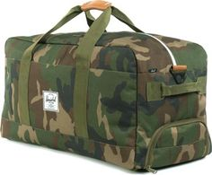 Portable Luggage Duffel Bag Woodland Gnomes Travel Bags Carry-on In Trolley Handle