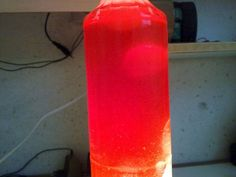DIY Lava Lamp Without Alka Seltzer