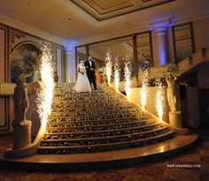 Weddings in lebanon - sparkling entranCe with zaffe Arab Wedding, Wedding Stage, Wedding Pics, Wedding Events, Wedding Engagement, Wedding Cards, Wedding Gowns, Wedding Staircase, Lebanese Wedding